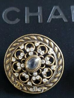 Authentic New Chanel Buttons 4 Pieces Very Rare