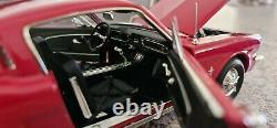Autoworld 118 Ford Mustang 1965 2+2 Amm1000 Mint Very Rare