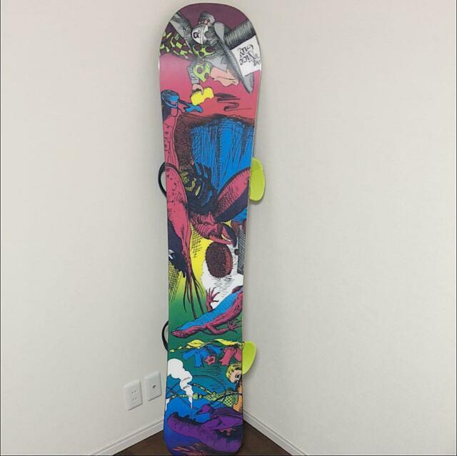 Burton Snowboard Alice In Wonderland Mint Sporting Good Very Rare From Japan 0r