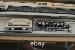 Brother KH 120 + KR 120 Fine Gauge Knitting Machine very rare mint condition