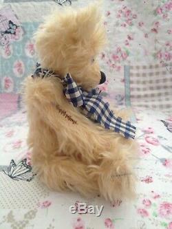 Charlie Bears Olly Danbury Mint Exclusive Very Rare Mohair Bear