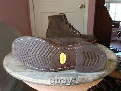 Chippewa Men's Boots Chocolate Moss 1901M85 RARE 9.5D MINT VERY RARE