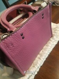 Coach Rogue 17 Mini Very Rare Color Primrose Brand New with Tags MINT