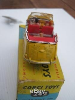 Corgi 242 Fiat Jolly 600 1965 Very Rare All Original Not Mint As Described