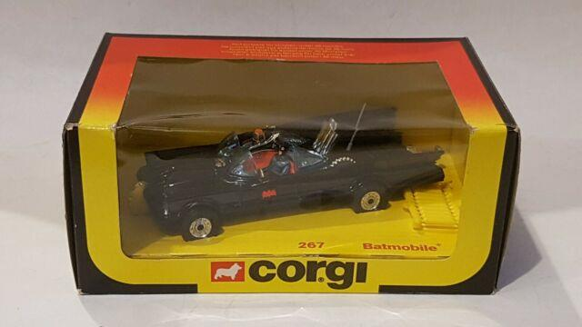 Corgi 267 Batmobile Very Rare Last Issue Mint Boxed With Missiles 1981
