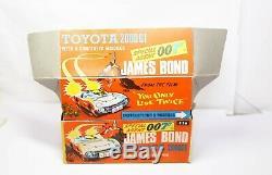 Corgi 336 James Bond Toyota 2000GT In Its Original Box Very Near Mint Rare 007