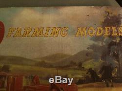 Corgi Toys 1960s Mint Condition Very Rare Cabinet Top Display FARMING MODELS