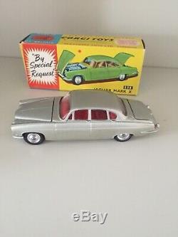 Corgi Toys 238 Rare Champagne Silver Very Near Mint Boxed Original