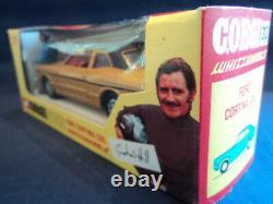 Corgi Toys Very Rare 1970's Ford Cortina Graham Hill No313 MINT Ex Shop Stock