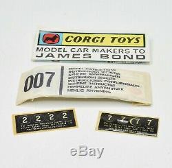 Corgi toys Gift set 45'All Winners' Very Near Mint/Boxed (Very rare)