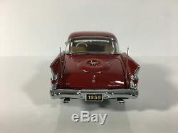 DANBURY MINT 1958 Packard Hawk 50th Anniversary EDITION 124 VERY RARE with BOX
