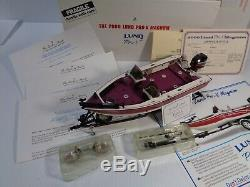 DANBURY MINT 2000 LUND PRO-V MAGNUM WithACCES. BNIB VERY RARE WithTITLE & BROCHURE