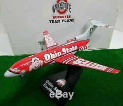 DANBURY MINT Ohio State Buckeyes Team Plane Boeing 727-100 Diecast NIB Very Rare