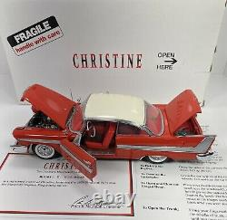 Danbury Mint 1/24 Scale 1958 Plymouth Fury CHRISTINE Very Detailed And RARE