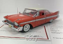 Danbury Mint 1/24 Scale 1958 Plymouth Fury CHRISTINE Very Detailed & RARE