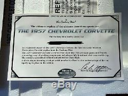 Danbury Mint 112 Scale 1957 Chevrolet Corvette Museum Masterpiece Very Rare