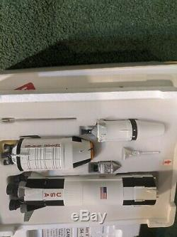 Danbury Mint SATURN V ROCKET (SA-506) NASA APOLLO 11 New in Box VERY RARE 1250