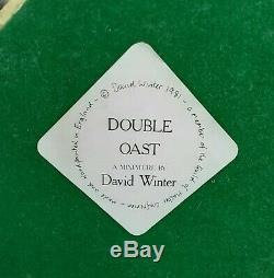 David Winter DOUBLE OAST VERY RARE AVAILABLE ONLY 1981-1982 MINT