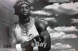 Deion Sanders Prime Time Nike Poster Atlanta Falcons & Braves Very Rare