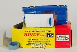 Dinky 273 R. A. C. Patrol Mini Van. VERY-Near-MINT/Boxed. Rare. 1960's