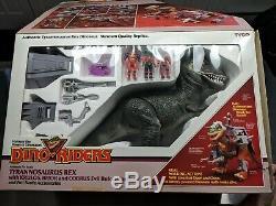 Dino Riders TYRANNOSAURUS REX T Rex MIB 100% Complete RARE & VERY MINT