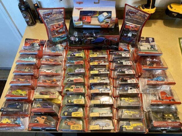 Disney Pixar Cars Diecast Huge Lot 54 Total Cars! No Doubles! Very Rare Cars