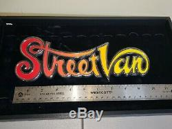 Dodge Streetvan Emblem Nos And Very Rare 1978/1979 Mint Condition Street Van