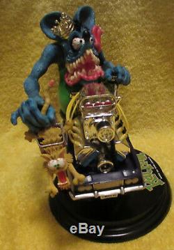 ED BIG DADDY ROTH- RAT FINK- Danbury Mint- King of the Hemi's- Rod- VERY RARE