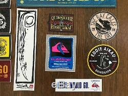 Eddie Would Go Sticker Collection VERY RARE Quiksilver Lot of 47 Surfing