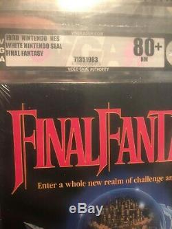 Final Fantasy NES Nintendo NEW SEALED H-SEAM MINT, VGA 80+ Very Rare HOLY Grail