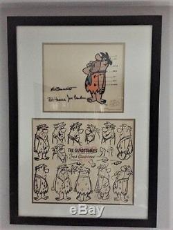 Flintstones Cel Lot of 4 Very Rare Collectibles