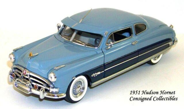 Franklin Mint 1951 Hudson Hornet Very Rare Ltd. Ed. 1/24 Mib