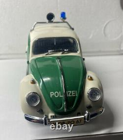 Franklin Mint 1967 GERMAN POLICE VW BEETLE VERY VERY RARE 1/24 Scale DETAILED