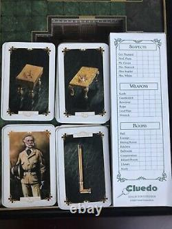 Franklin Mint Cluedo Board Game Incomplete Very Rare