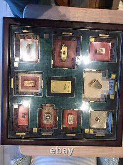 Franklin Mint Cluedo Board Game Slightly Incomplete Very Rare