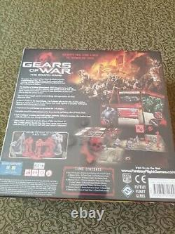 Gears of War board game OOP VERY RARE NEW SEALED MINT