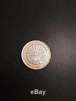 Guy Fawkes 2 pound (£2) coin 1605-2005 with minting error-Very Rare Pemember
