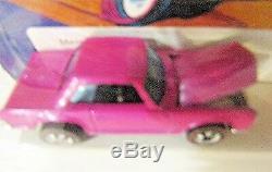 HOTWHEELS 1973 Redline Mercedes 280SL (6962) very rare Pink Enamel Mint