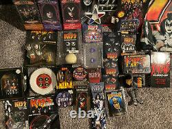HUGE KISS COLLECTION LOT Very Rare Aucoin Psycho Circus Gene Simmons