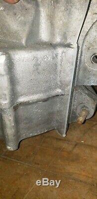 Harley FLATHEAD UL VIN # 1016 EARLY 1937 VERY RARE engine motor cases MINT set