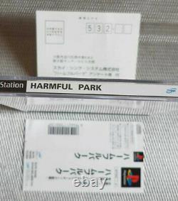Harmful Park Playstation 1 NTSC JAP neuwertig selten mint Condition very rare
