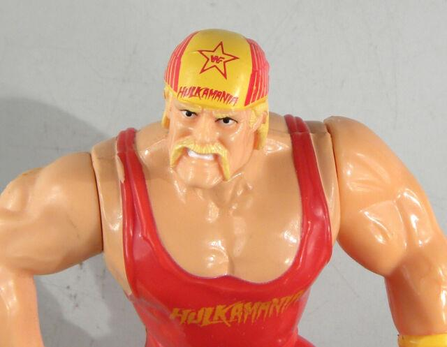 Hasbro Wwf Hulk Hogan Red Shirt Mail In Near Mint Never Played With! Very Rare
