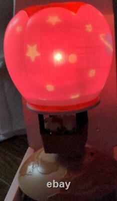 Hello Kitty Sanrio Retro Light Stand Balloon type Room Lamp withbox Very Rare Mint