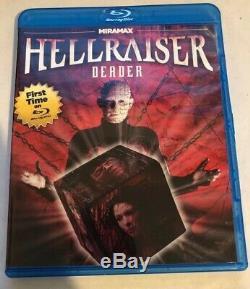 Hellraiser Deader Blu-ray VERY RARE REGION 1 ECHO BRIDGE MINT OOP Authentic HTF