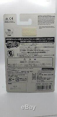 Hot Wheels 67 Camaro Punk Rock very Rare japanese card VHTF mint condition