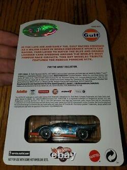 Hot Wheels RLC Gulf Porsche 917K 1172/4000 Very Rare Mint Card