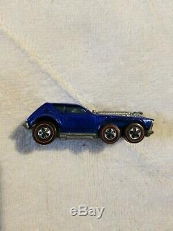 Hot Wheels Redline Blue Open Fire, Very Rare, Near Mint Condition