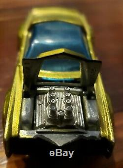 Hot Wheels Redline Sugar Caddy Lime Gold HK Hybrid MINT VERY RARE SR