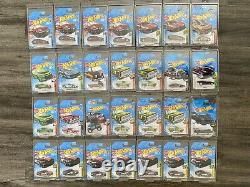 Hot Wheels Super Treasure Hunt 28 Die Cast Car Lot VERY RARE HTF NIB Real Riders