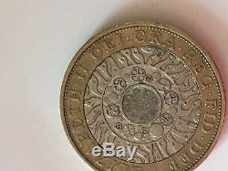 Huge Error £2 Two Pound Very Rare 1998 Technology Coin Hunt Royal Mint Error